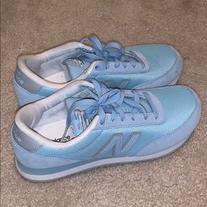 Baby Blue New Balances